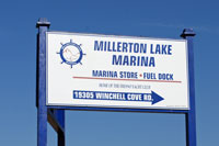 Photo of Winchell Cove Marina sign