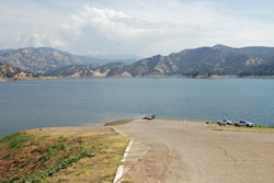 Photo of Lakeview boat ramp at Pine Flat Lake, CA