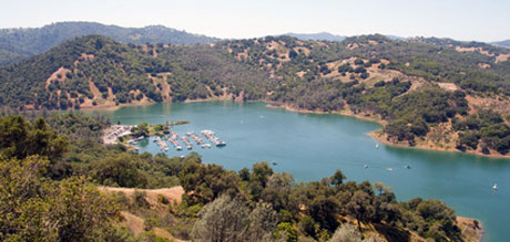 Photo of Lake Sonoma, California