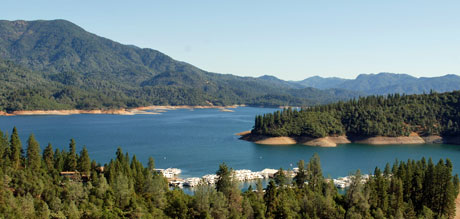 Photo of Shasta Lake, California